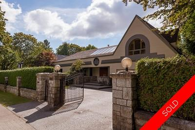 Shaughnessy House for sale:  5 bedroom 4,917 sq.ft. (Listed 2016-09-08)