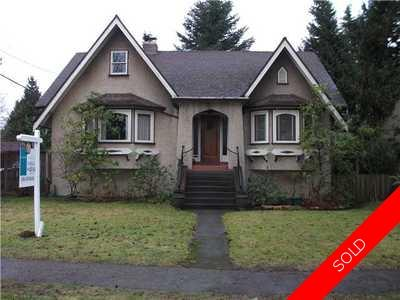Point Grey House for sale:  4 bedroom 2,148 sq.ft. (Listed 2011-01-16)