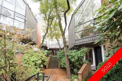 Fairview Townhouse for sale: 2 bedroom 1,407 sq.ft. - 848 West 7th Avenue, Vancouver, BC, V5Z 1C1